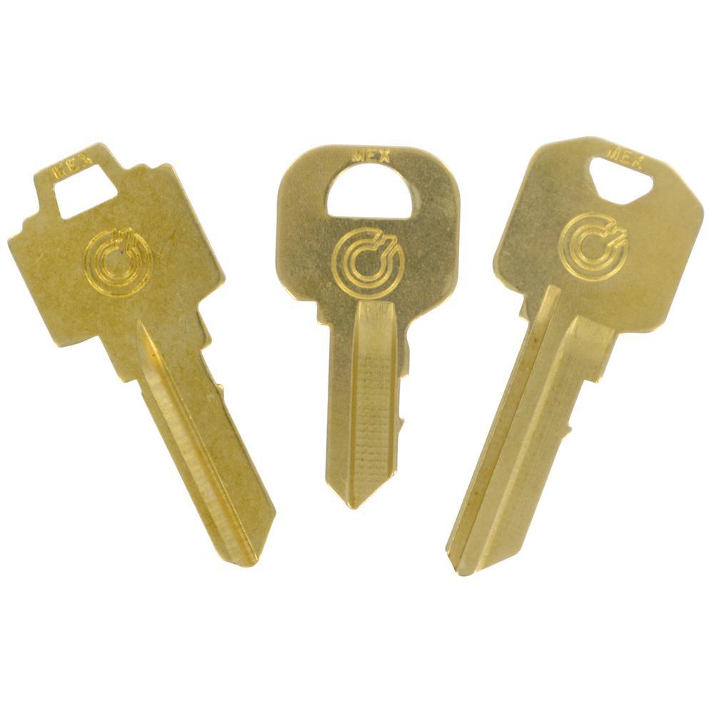Home Depot Key Copy >> Brass Key