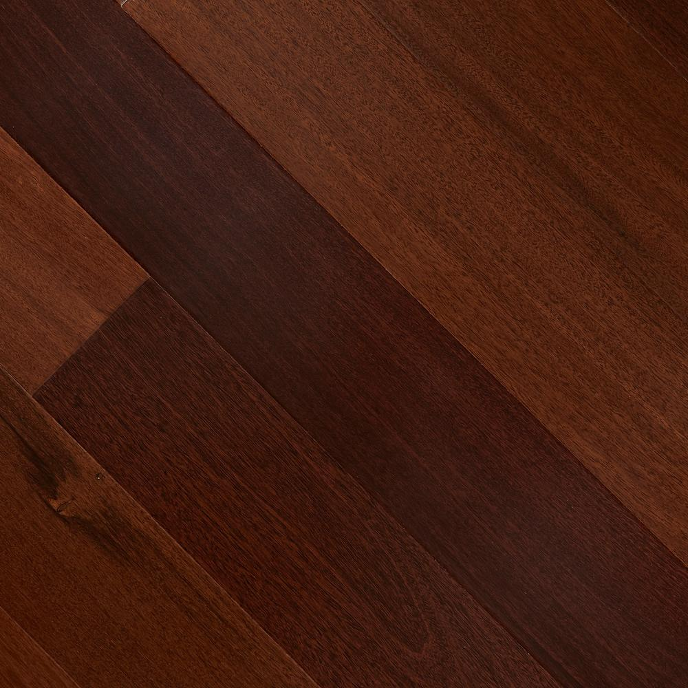 Santos Mahogany 3/8 in. T x 5 in. W x Varying