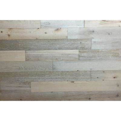 Coastal White 3 in. Peel and Stick Wall Applique Panels (20 sq. ft./Box)