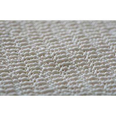Comfort Grip Ivory 5 ft. 3 in. Rug Pad