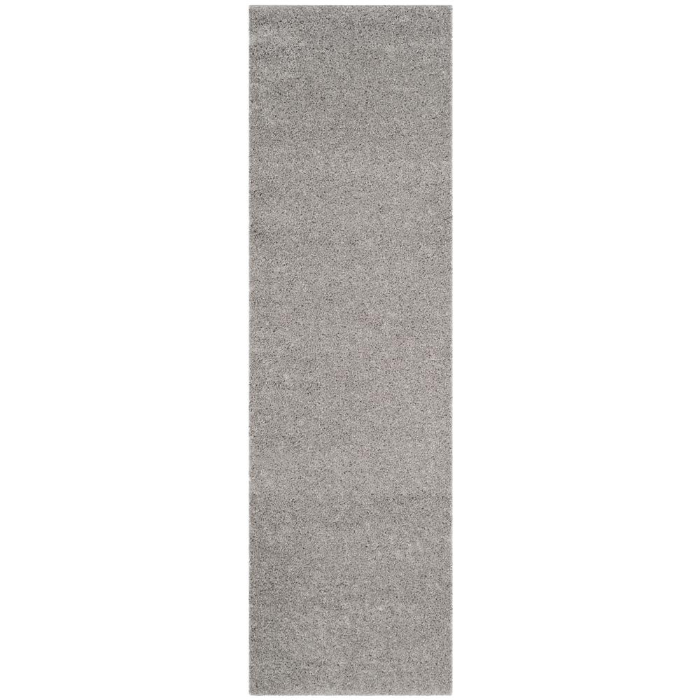 Safavieh Arizona Shag Light Gray 2 ft. x 8 ft. Runner Rug