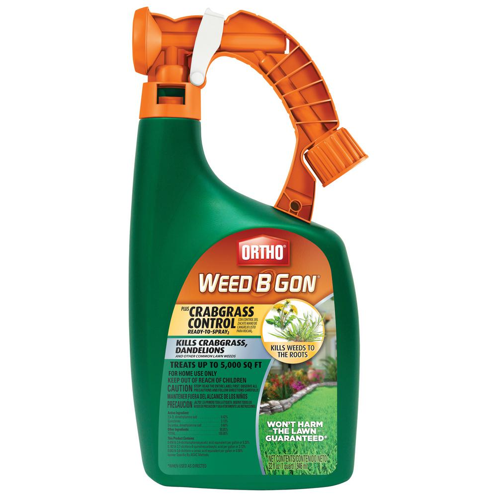 Ortho Weed B Gon 32 oz. Plus Crabgrass Control Ready-To-Spray2