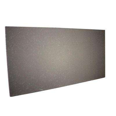 FP Ultra Lite 1 in. x 2 ft. x 4 ft. Stucco Grey Foundation Panel