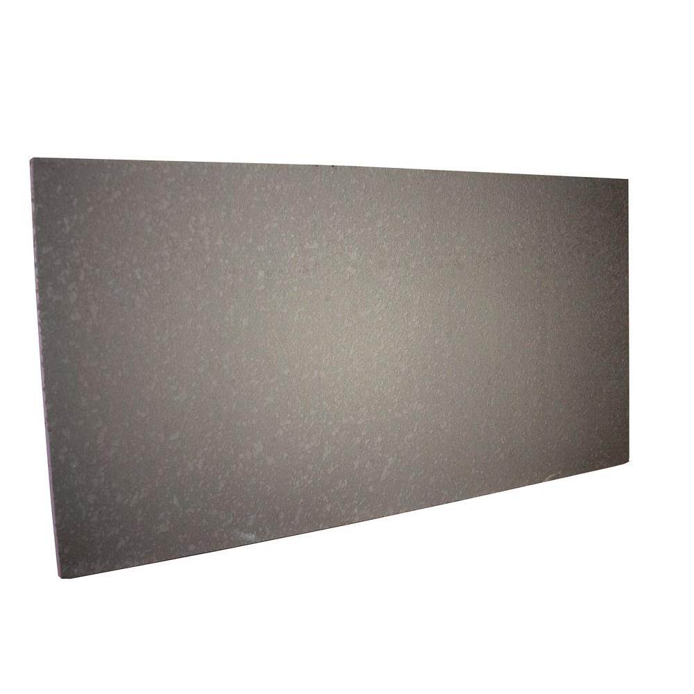 STYRO Industries FP Ultra Lite 2 in. x 2 ft. x 4 ft. Stucco Grey Foundation Panel