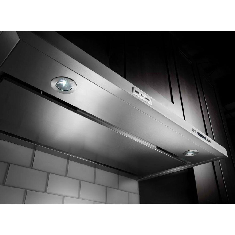 Kitchenaid 30 In Convertible Under Cabinet Range Hood Stainless Steel