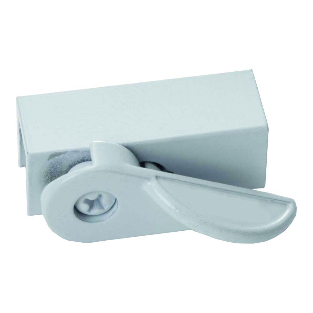 Cam Action White Window Slide Stop