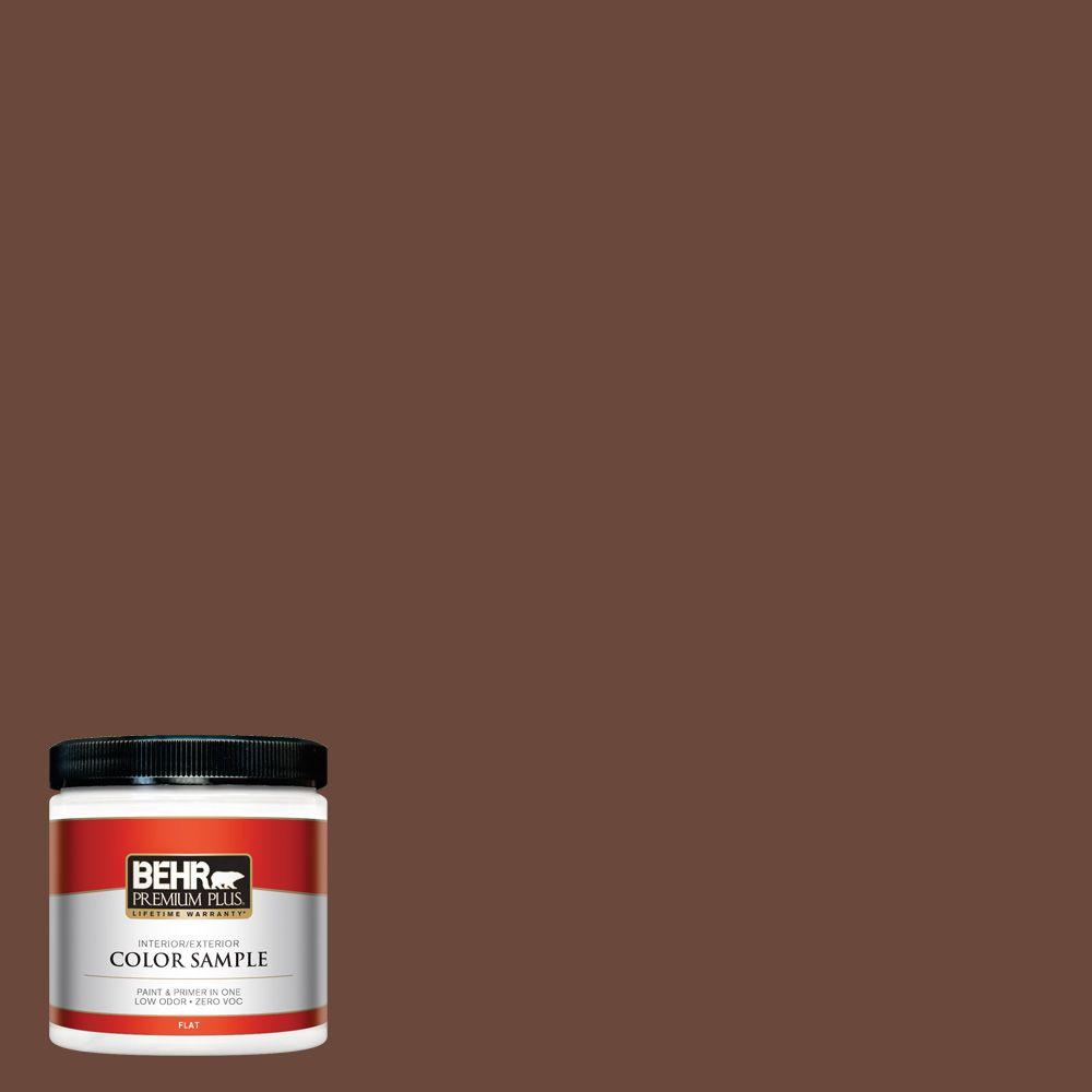 8 oz. #BXC-45 Classic Brown Interior/Exterior Paint Sample