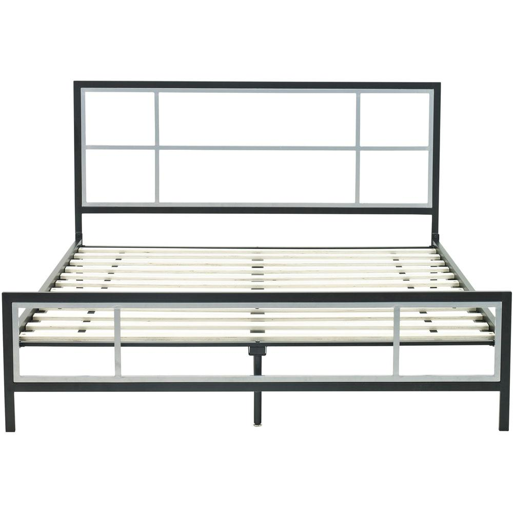 Lincoln Square Metal Full Platform Bed