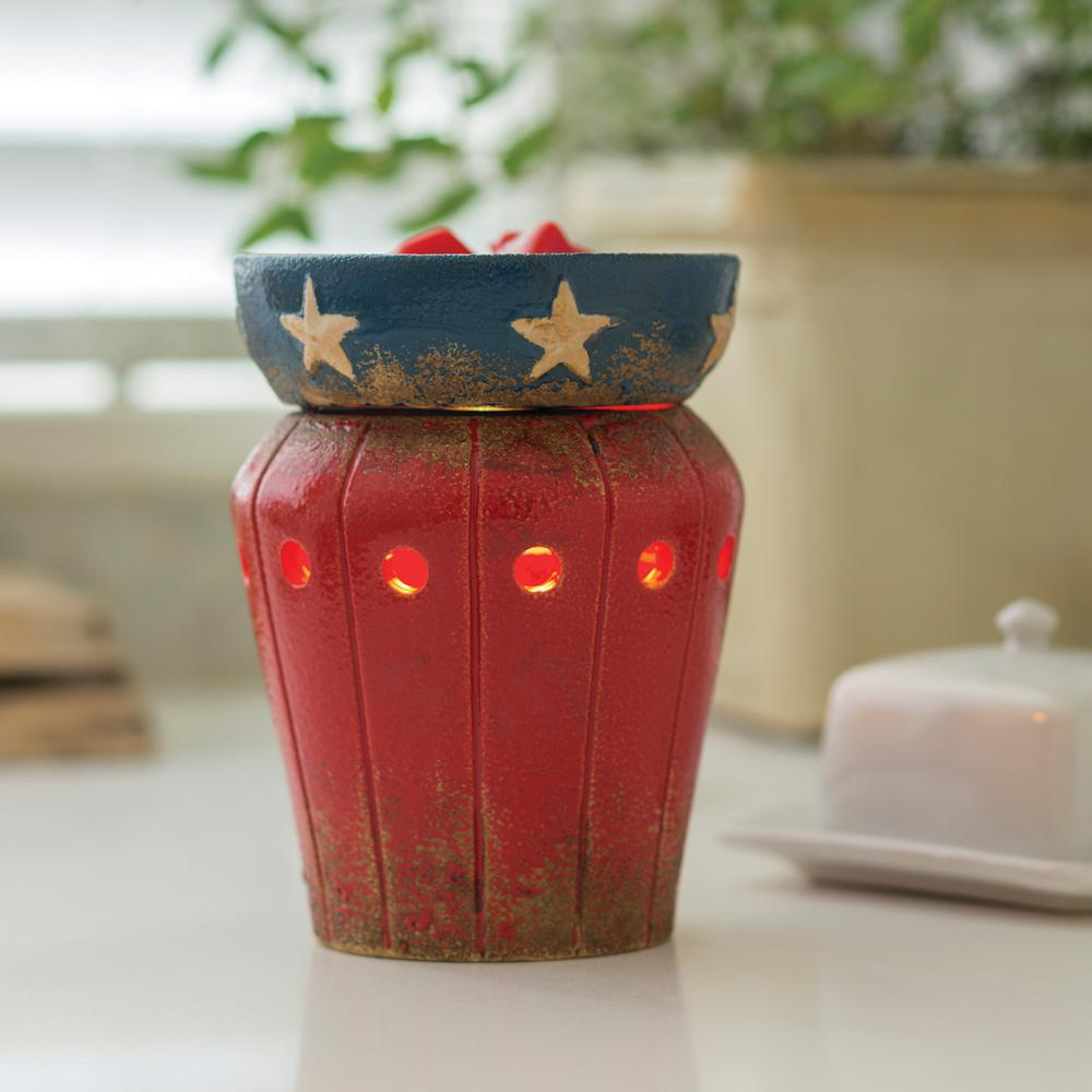 8.8 in. Americana Illumination Fragrance Warmer
