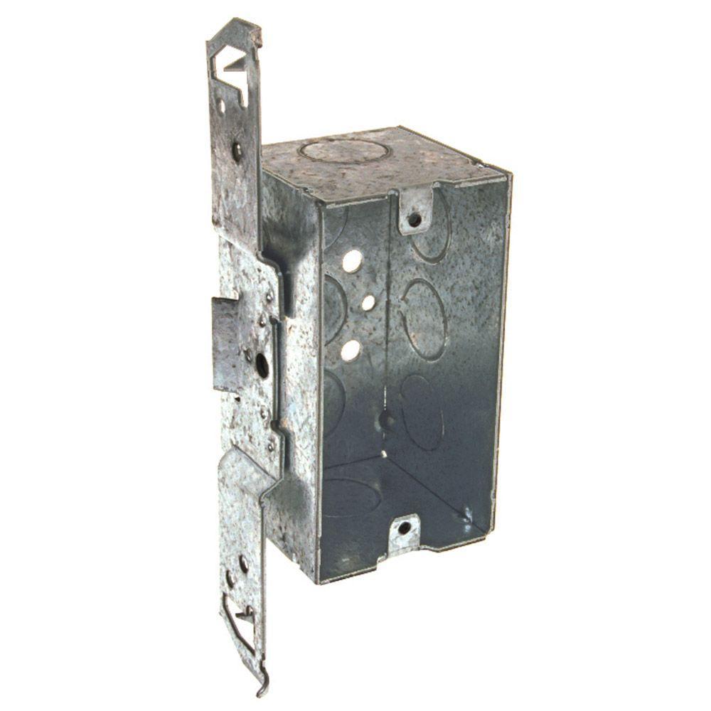 4 in. x 2 in. Welded Handy Box with Bracket