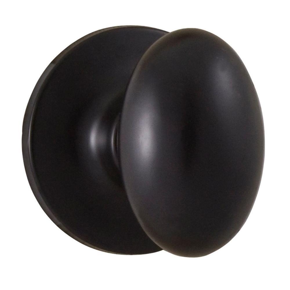 Weslock Reliant Oil-Rubbed Bronze Passage Braden Knob