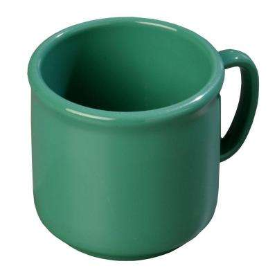 10 oz. SAN Plastic Mug in Meadow Green (Case of 12)