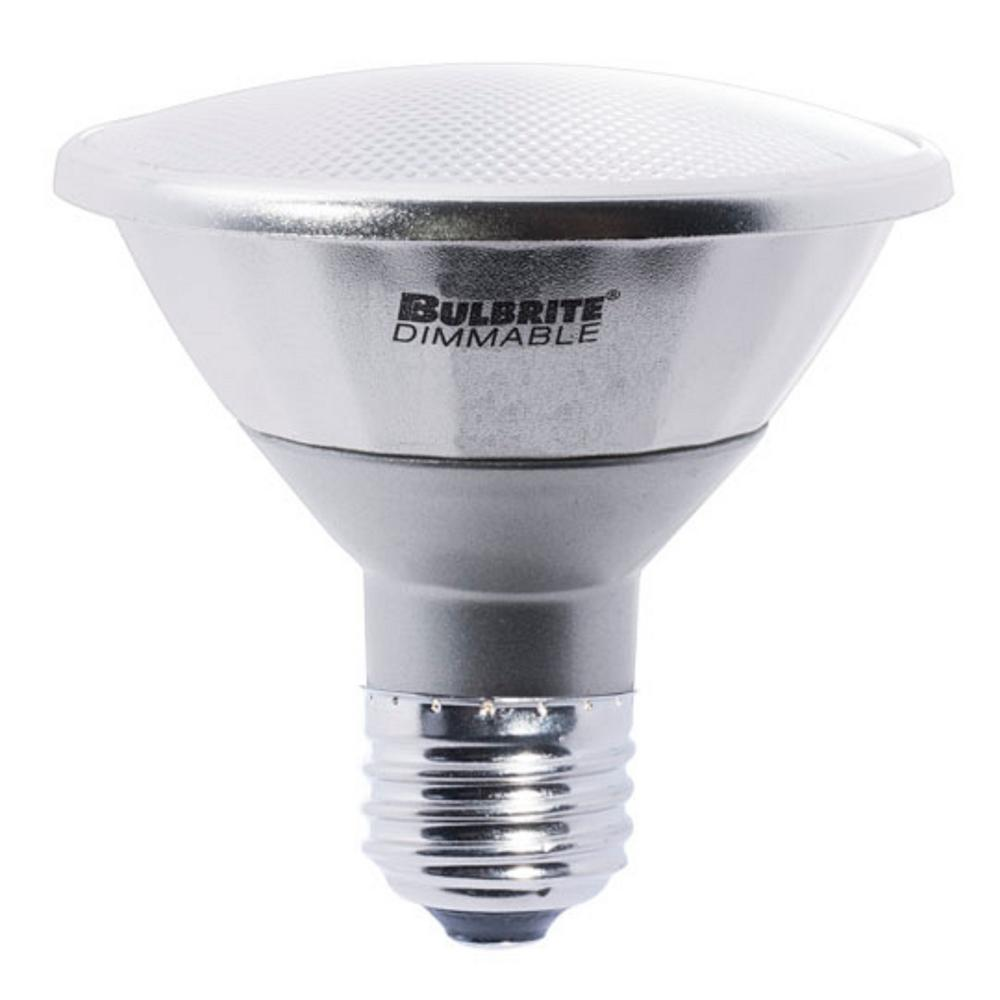 Narrow Flood: Bulbrite 50W Equivalent Soft White Light PAR30SN Dimmable