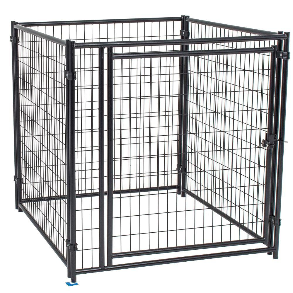 4 ft. H x 4 ft. L Modular Welded Wire Kennel