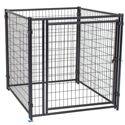 4 ft. H x 4 ft. L Modular Welded Wire Kennel Kit