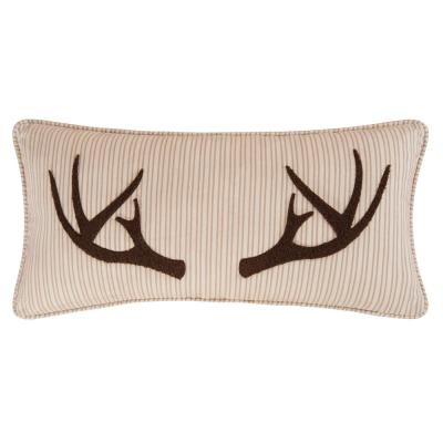 12 in. x 24 in. Sleepy Forest Tufted Pillow