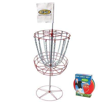 PDGA Approved Disc Golf Set with Goal