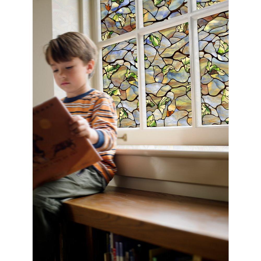 24 in. x 36 in. Vista Decorative Window Film