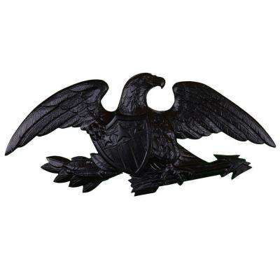 23 in. Deluxe Black Wall Eagle
