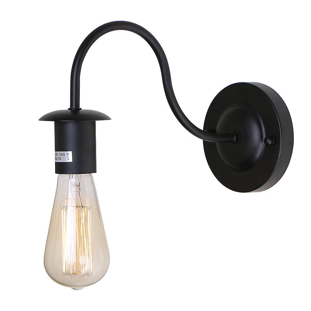 Livex Lighting Providence 1 Light Black Sconce 4151 04
