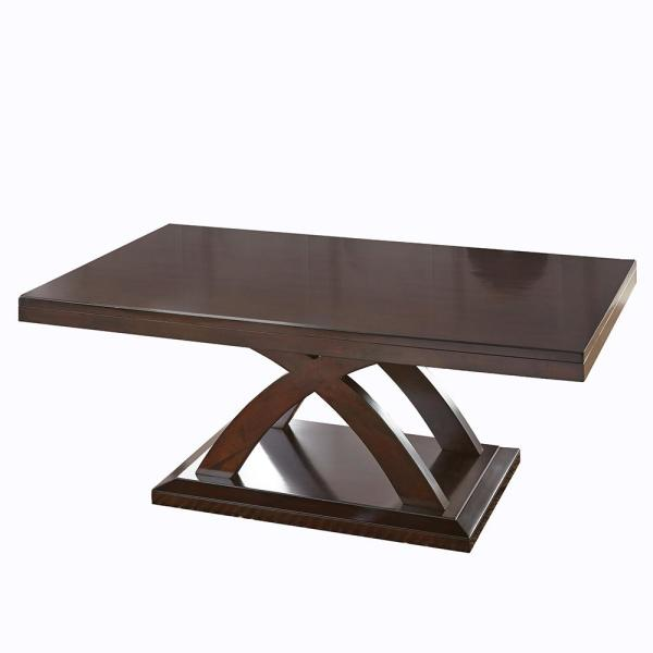 Cool Jocelyn Espresso Cherry Classic Cocktail Table Home Remodeling Inspirations Genioncuboardxyz