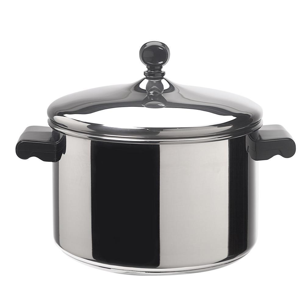 Farberware Classic Series 4 Qt. Stainless Steel Sauce Pot ...