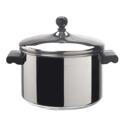Classic Series 4 Qt. Stainless Steel Sauce Pot with Lid