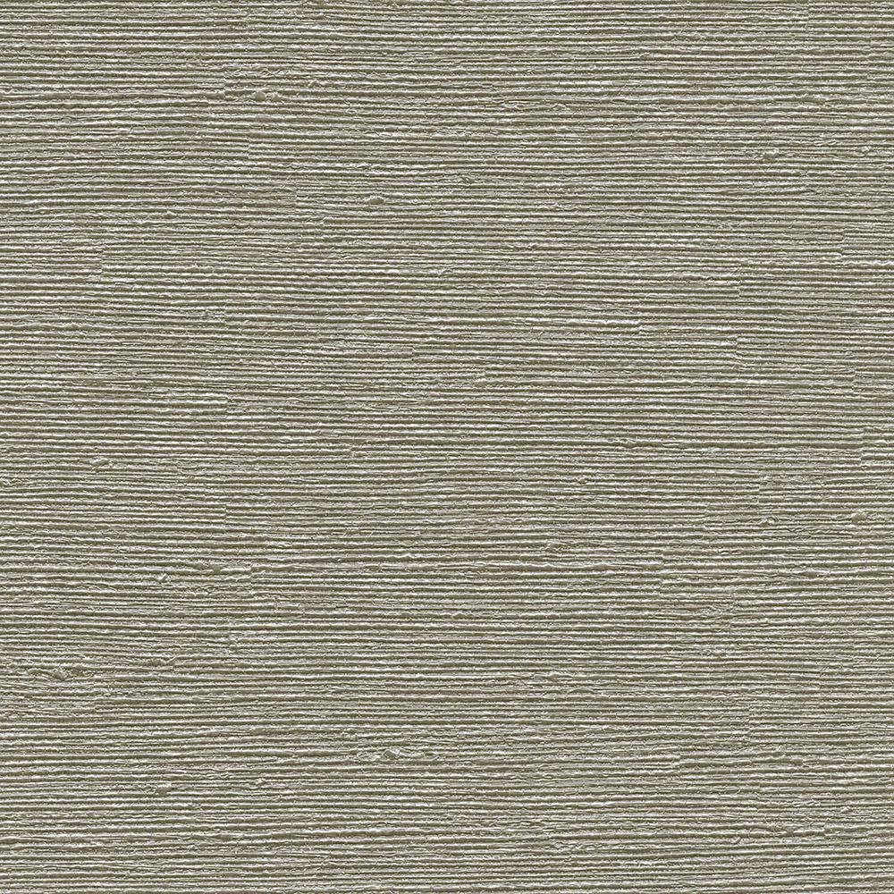 8 in. x 10 in. Aspero Taupe Faux Grasscloth Wallpaper Sample