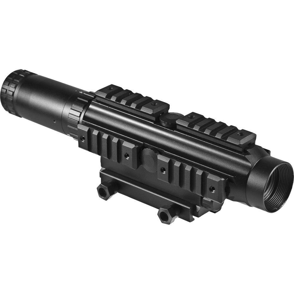 BARSKA Electro Sight 1-4x24 Illuminated Reticle Riflescope