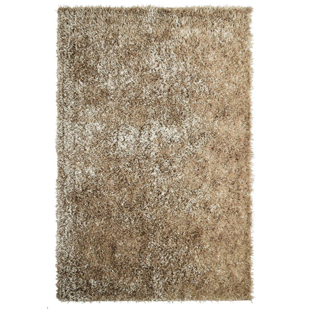 City Sheen Gold Polyester 3 ft. x 5 ft. Area Rug