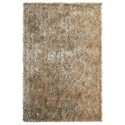 City Sheen Gold Polyester 8 ft. x 10 ft. Area Rug