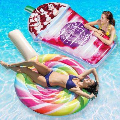 Lollipop Float and Berry Pink Splash Pool Float Combo Pack