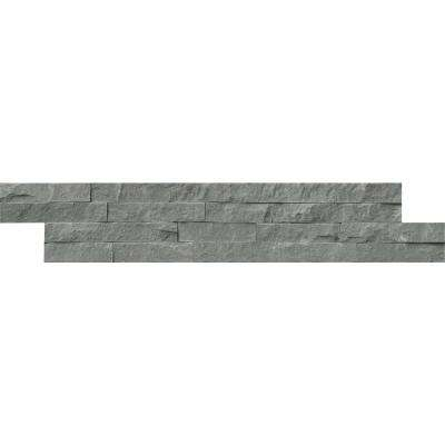 Mountain Bluestone Ledger Panel 6 in. x 24 in. Natural Sandstone Wall Tile (10 cases / 60 sq. ft. / pallet)