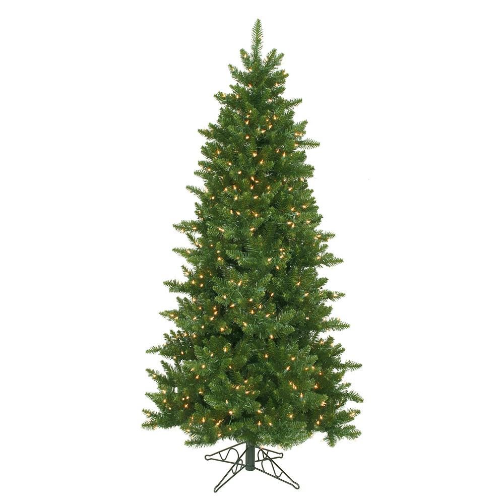 Artificial Christmas Tree Sizes.10 Ft X 62 In Pre Lit Eastern Pine Slim Artificial Christmas Tree Clear Lights
