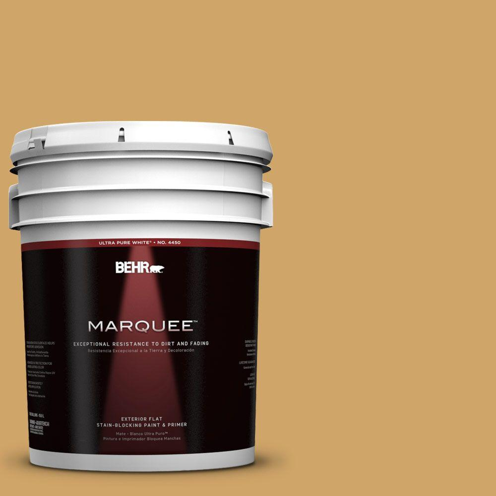 BEHR MARQUEE 5-gal. #330D-5 Campground Flat Exterior Paint