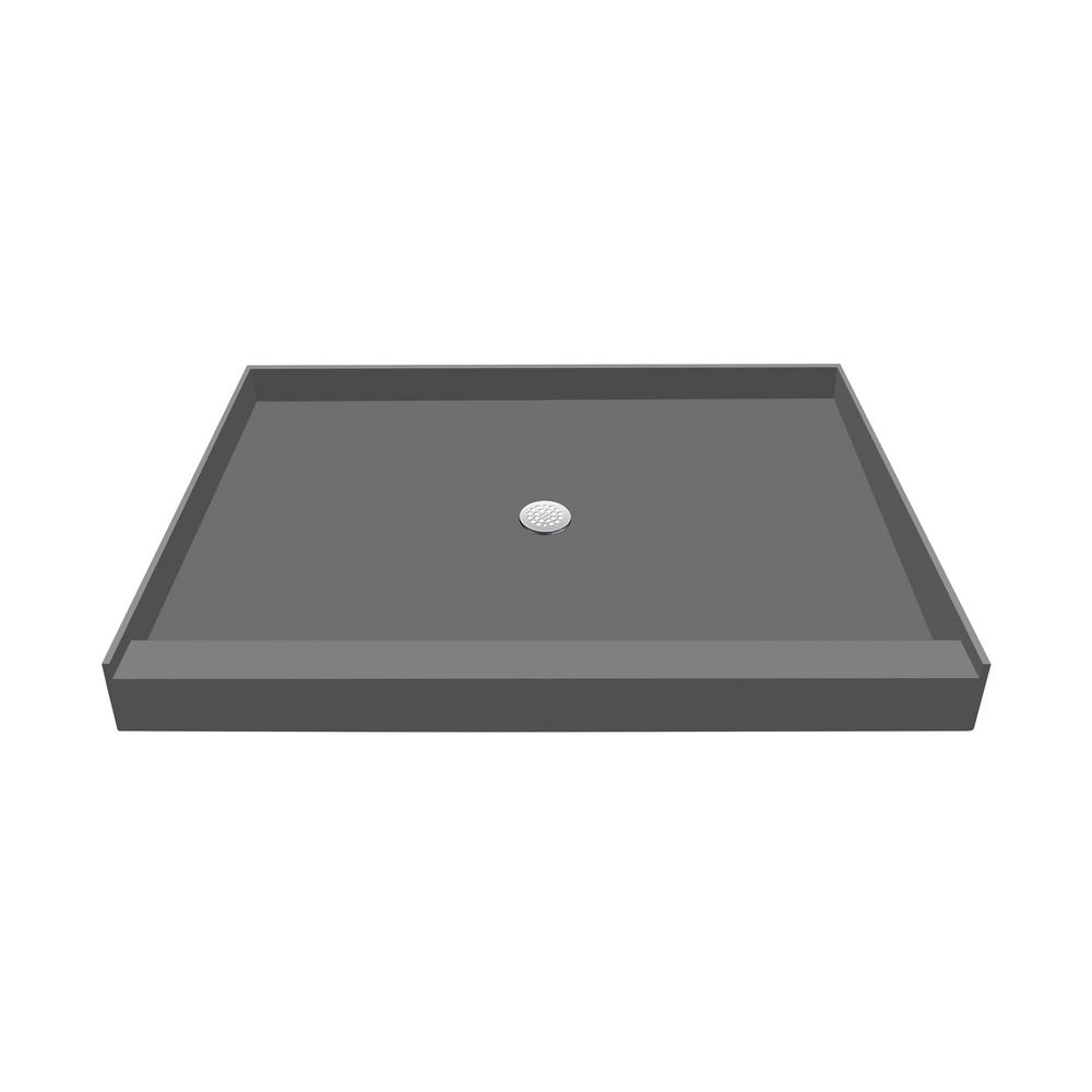 32 in. x 60 in. Single Threshold Shower Base with Center