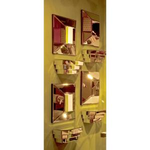 Stephen Square Mirror by