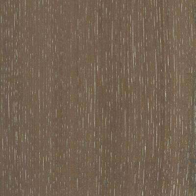 Take Home Sample - Wire Brushed Hickory Smoketree Hardwood Flooring - 5 in. x 7 in.