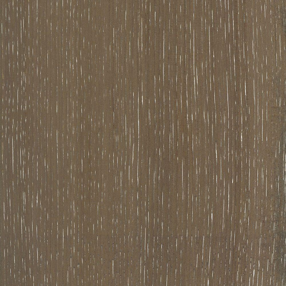 Take Home Sample - Wire Brushed Hickory Smoketree Hardwood Flooring -
