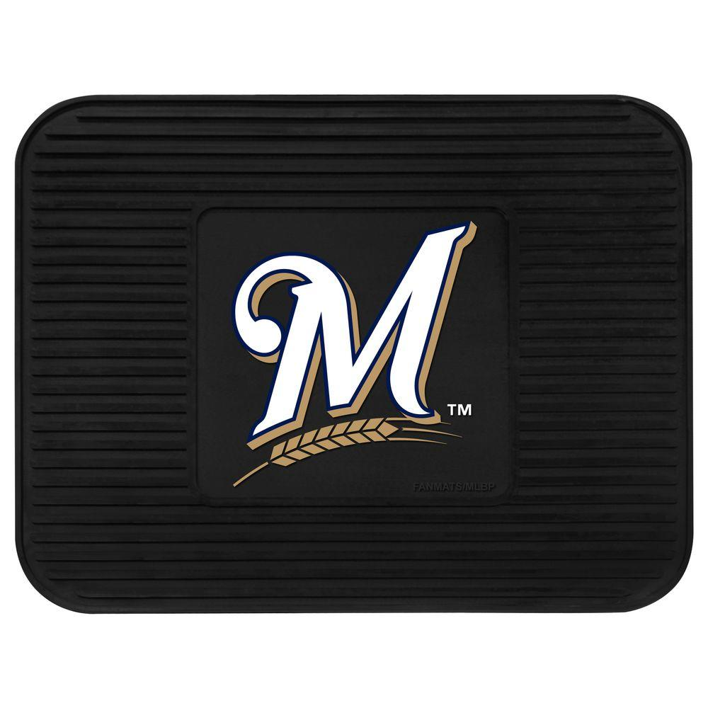 Fanmats Milwaukee Brewers 14 In X 17 In Utility Mat