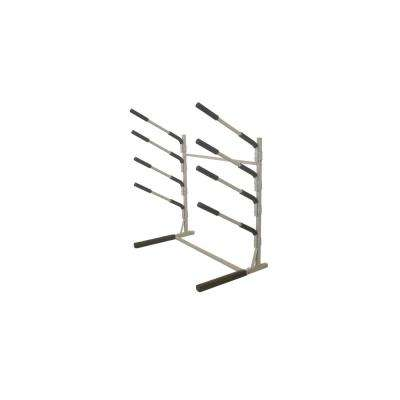 Freestanding 4-Tier Stand Up Paddle and Surf Board Rack