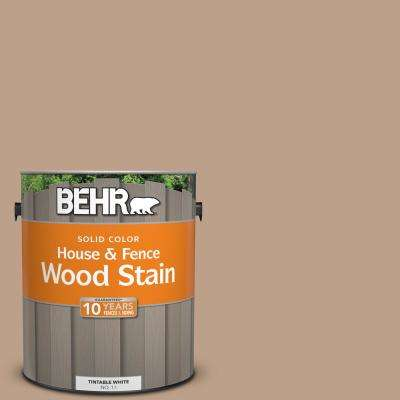 1 gal. #N240-4 Sierra Solid House and Fence Wood Stain