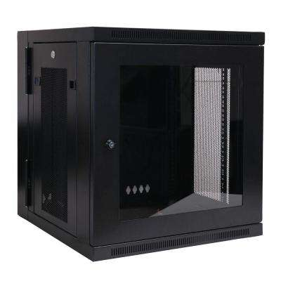 12U Wall Mount Rack Enclosure Cabinet Wallmount Plexiglass Door