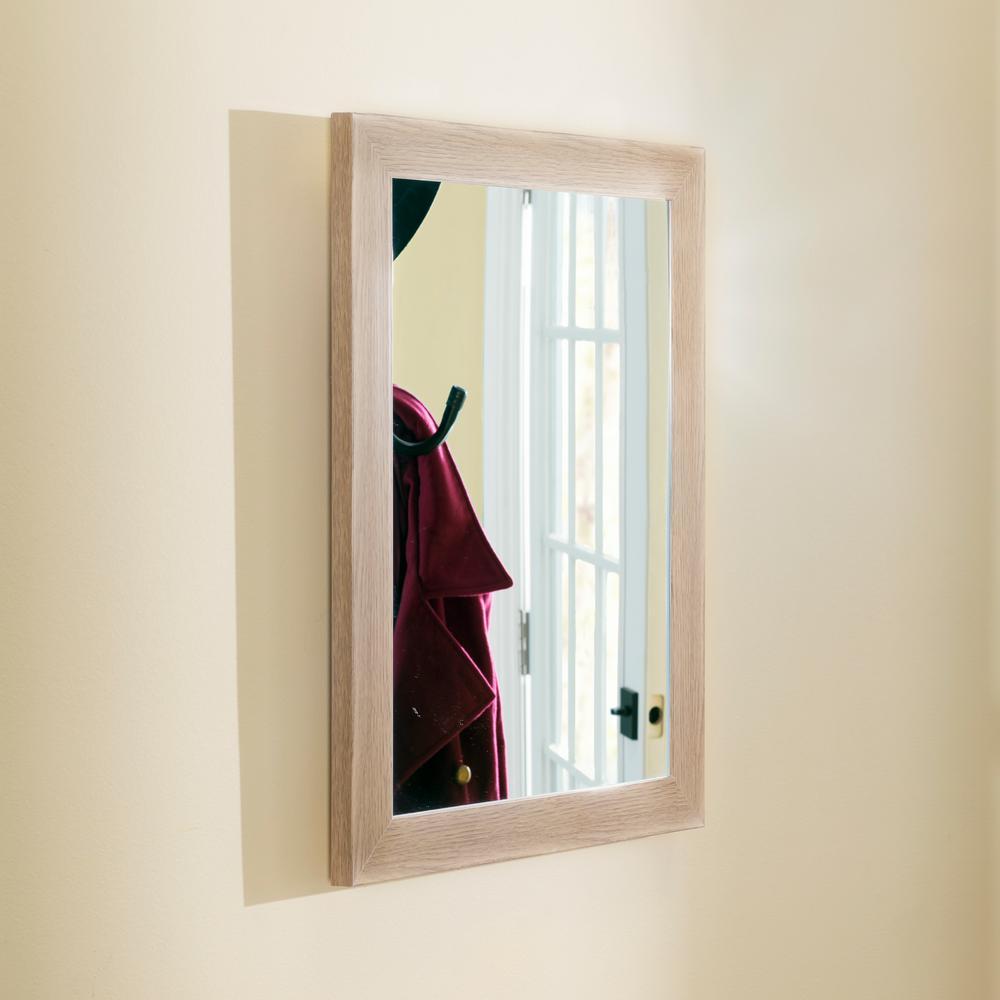Home Basics Natural Wall Mirror