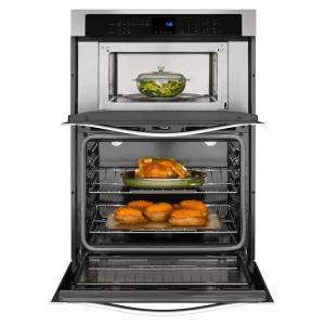 So Sku 306242 3 Whirlpool 27 In Electric Wall Oven With Built Microwave
