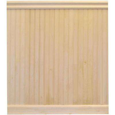 8 Lin Ft Bwood Tongue And Groove Wainscot Paneling