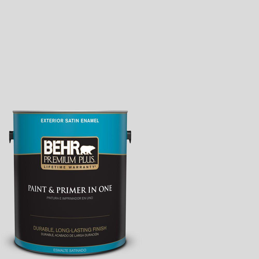 1-gal. #790E-1 Subtle Touch Satin Enamel Exterior Paint