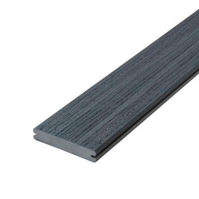 Paramount 1 in. x 5-4/9 in. x 20 ft. Flagstone Grooved Edge Capped Cellular PVC Decking Board (10-Pack)