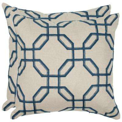 Hayden Embroidered Pillow (2-Pack)