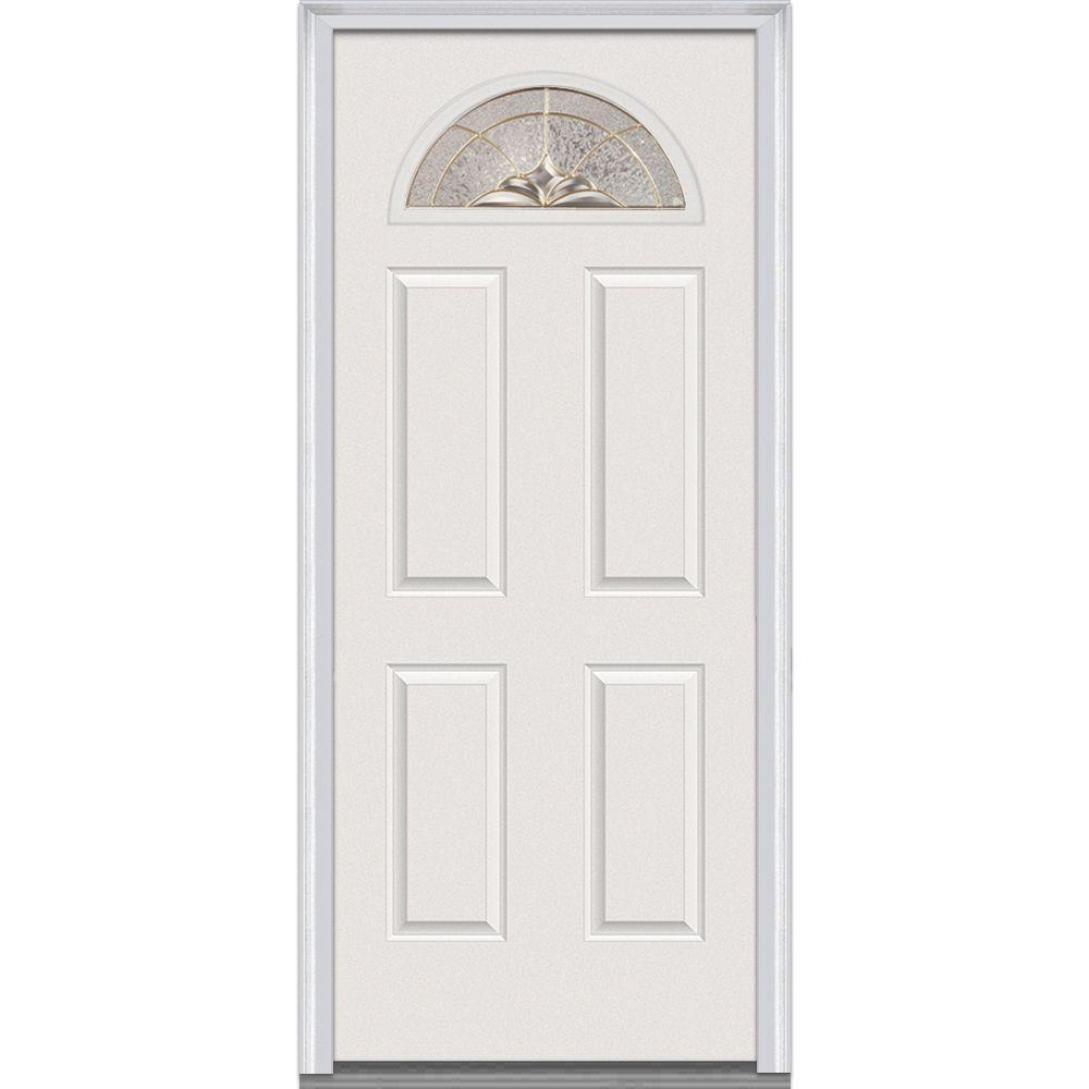 Mmi Door 32 In X 80 In Heirloom Master Right Hand 14 Lite
